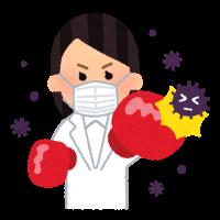 fight_virus_woman